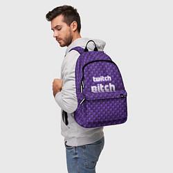 Рюкзак Twitch Bitch цвета 3D-принт — фото 2