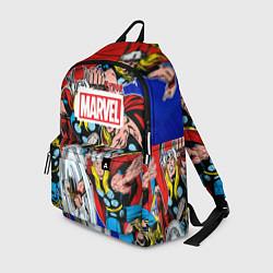 Рюкзак Thor: MARVEL цвета 3D-принт — фото 1