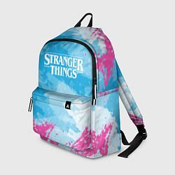 Рюкзак STRANGER THINGS цвета 3D-принт — фото 1