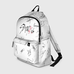 Рюкзак STRAY KIDS АВТОГРАФЫ цвета 3D — фото 1