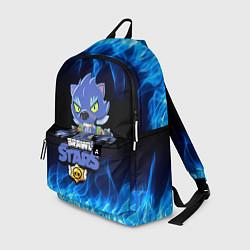 Городской рюкзак с принтом BRAWL STARS LEON ОБОРОТЕНЬ, цвет: 3D, артикул: 10203330705601 — фото 1