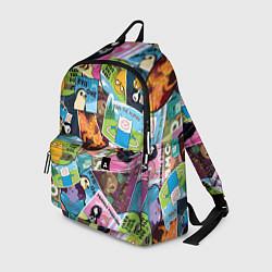 Рюкзак Время Приключений цвета 3D — фото 1