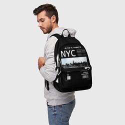Рюкзак Off-White: NYC цвета 3D-принт — фото 2