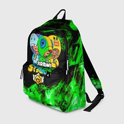 Городской рюкзак с принтом Brawl Stars Leon Trio, цвет: 3D, артикул: 10214695905601 — фото 1
