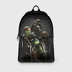 Рюкзак Черепашки-ниндзя цвета 3D-принт — фото 2
