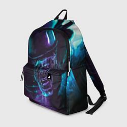 Рюкзак ЧУЖОЙ цвета 3D-принт — фото 1