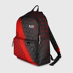 Рюкзак Mass Effect N7 цвета 3D — фото 1