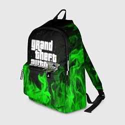 Рюкзак GTA 5 цвета 3D-принт — фото 1