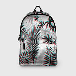 Рюкзак ПАЛЬМЫ TROPICAL GLITCH цвета 3D-принт — фото 2
