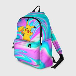 Рюкзак Пикачу цвета 3D-принт — фото 1
