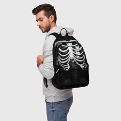 Рюкзак Котик в груди цвета 3D — фото 2