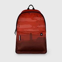 Рюкзак Сакура цвета 3D-принт — фото 2