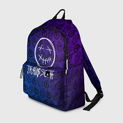 Рюкзак TRAVIS SCOTT цвета 3D-принт — фото 1