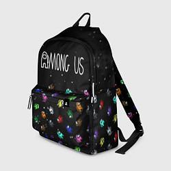Рюкзак AMONG US цвета 3D-принт — фото 1