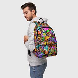 Городской рюкзак с принтом STANDOFF 2 STICKERS, цвет: 3D, артикул: 10275336305601 — фото 2