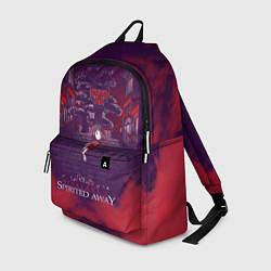 Рюкзак Унесённые призраками цвета 3D-принт — фото 1