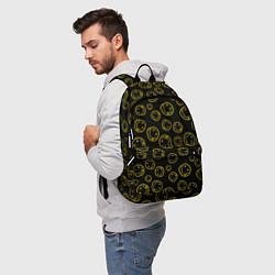 Рюкзак Nirvana Pattern цвета 3D — фото 2