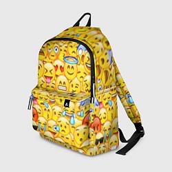 Рюкзак Emoji цвета 3D — фото 1