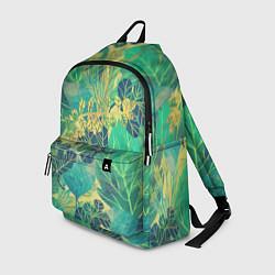 Рюкзак Узор из листьев