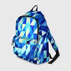 Рюкзак Синяя геометрия