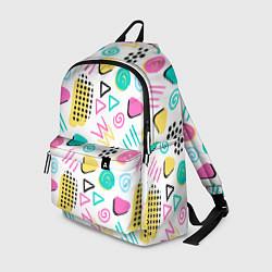 Рюкзак Поп-арт цвета 3D — фото 1