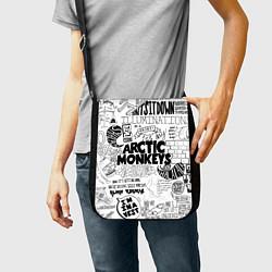 Сумка на плечо Arctic Monkeys цвета 3D-принт — фото 2