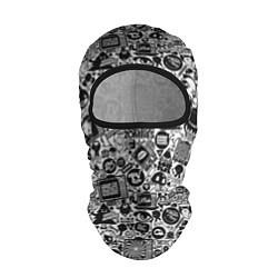 Балаклава Стикербомбинг цвета 3D-черный — фото 1