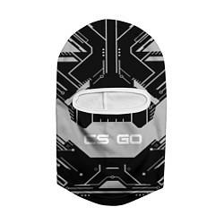 Балаклава CS:GO Black collection цвета 3D-белый — фото 2
