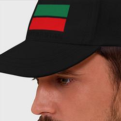 Бейсболка Флаг Татарстана цвета черный — фото 2
