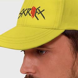 Бейсболка Skrillex цвета желтый — фото 2