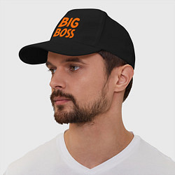Бейсболка Big Boss цвета черный — фото 1