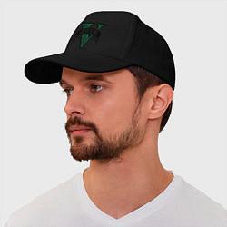 Бейсболка GTA V: Logo цвета черный — фото 1