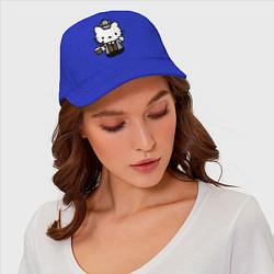 Бейсболка Kitty Holmes цвета синий — фото 2