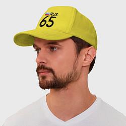 Бейсболка RUS 65 цвета желтый — фото 1