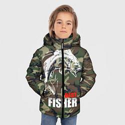 Куртка зимняя для мальчика Best fisher цвета 3D-черный — фото 2