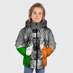 Детская зимняя куртка для мальчика с принтом McGregor: Boxing of Thrones, цвет: 3D-черный, артикул: 10102373906063 — фото 2