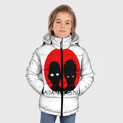 Куртка зимняя для мальчика Saitama & Genos цвета 3D-черный — фото 2