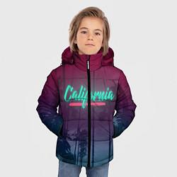 Куртка зимняя для мальчика California цвета 3D-черный — фото 2