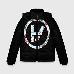 Куртка зимняя для мальчика 21 Pilots: Symbol цвета 3D-черный — фото 1