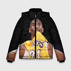 Куртка зимняя для мальчика Kobe Bryant цвета 3D-черный — фото 1