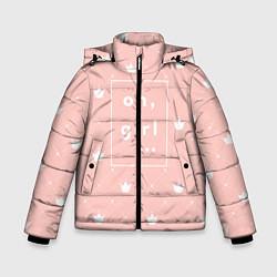 Куртка зимняя для мальчика Oh, girl цвета 3D-черный — фото 1