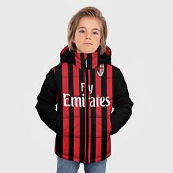 Куртка зимняя для мальчика Milan FC: Fly Emirates цвета 3D-черный — фото 2