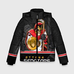 Куртка зимняя для мальчика Ottawa Senators цвета 3D-черный — фото 1