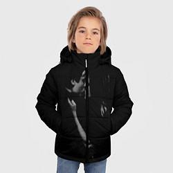 Куртка зимняя для мальчика Vampire Love цвета 3D-черный — фото 2