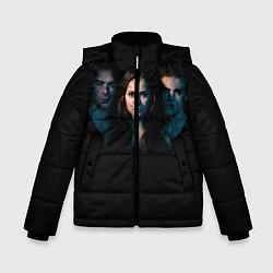 Куртка зимняя для мальчика Vampire Trio цвета 3D-черный — фото 1