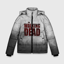 Куртка зимняя для мальчика The Walking Dead цвета 3D-черный — фото 1