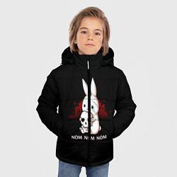 Куртка зимняя для мальчика Череп цвета 3D-черный — фото 2