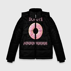 Куртка зимняя для мальчика Donuts цвета 3D-черный — фото 1