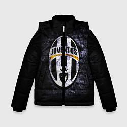 Куртка зимняя для мальчика Juventus: shadows цвета 3D-черный — фото 1