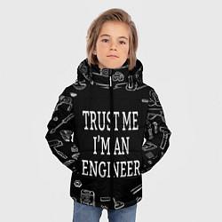 Куртка зимняя для мальчика Строитель 13 цвета 3D-черный — фото 2